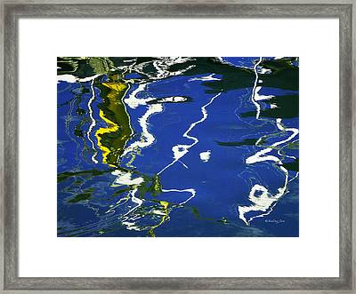 Abstract 12 Framed Print by Xueling Zou