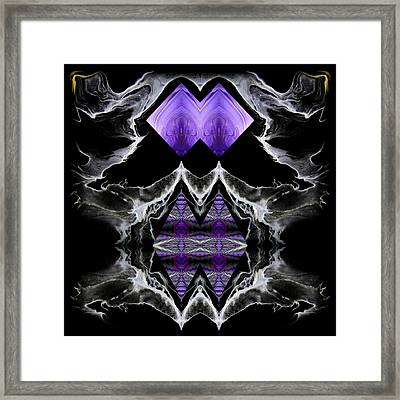 Abstract 136 Framed Print by J D Owen