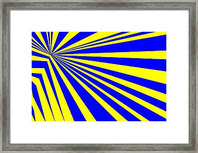 Abstract 150 Framed Print by J D Owen