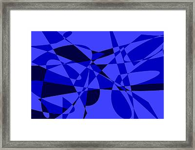 Abstract 153 Framed Print by J D Owen