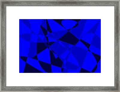 Abstract 154 Framed Print by J D Owen