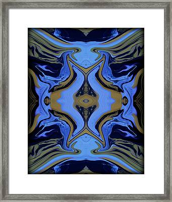 Abstract 162 Framed Print by J D Owen