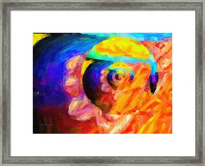Abstract 18 Framed Print by Kenny Francis