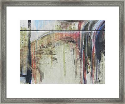 Abstract 2  Framed Print by Andres Carbo