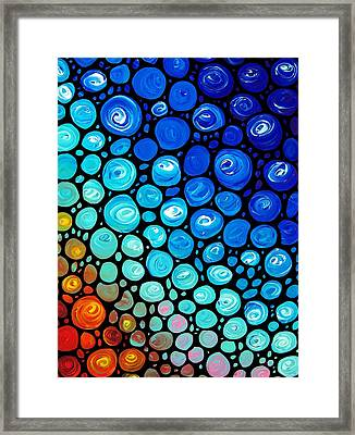 Abstract 2 Framed Print by Sharon Cummings