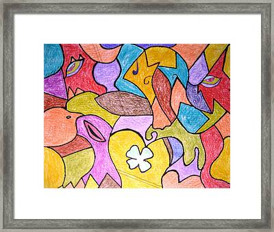 Abstract 2 Framed Print by Will Boutin Photos