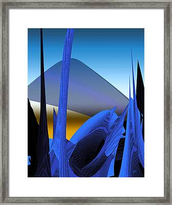 Abstract 200 Framed Print by Gerlinde Keating - Galleria GK Keating Associates Inc