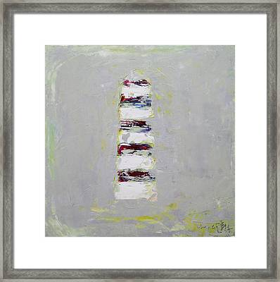 Abstract 2015 03 Framed Print by Becky Kim