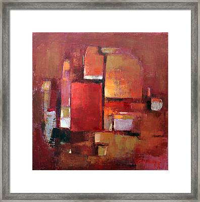 Abstract 2015 05 Framed Print by Becky Kim