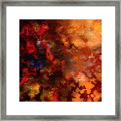 Abstract 21214a Framed Print by Daniel Mowry