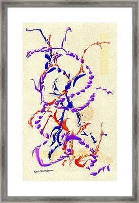 Abstract 215 5 Framed Print by Kae Cheatham