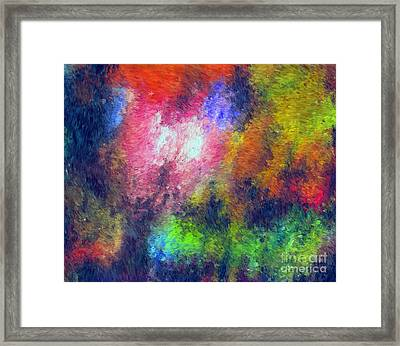 Abstract 296 Framed Print by John Krakora