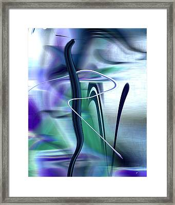 Abstract 300 Framed Print by Gerlinde Keating - Galleria GK Keating Associates Inc