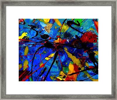 Abstract 39 Framed Print by John  Nolan