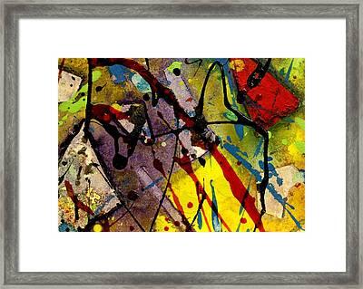Abstract 53 Framed Print by John  Nolan