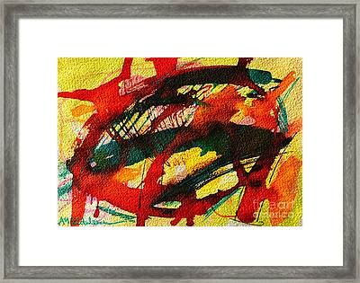 Abstract 73 Framed Print by Ana Maria Edulescu