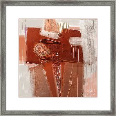 Abstract 946 Framed Print by Nedunseralathan R