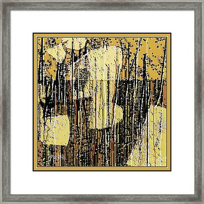 Abstract 971 Framed Print by Nedunseralathan R