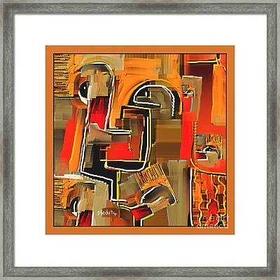 Abstract 973 Framed Print by Nedunseralathan R