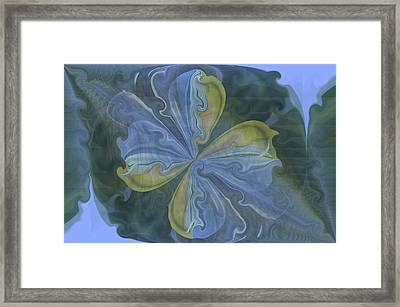 Abstract A023 Framed Print by Maria Urso