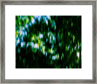 Abstract Above Framed Print by Mary Zeman