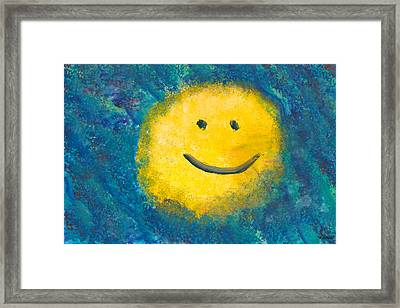 Abstract - Acrylic - Happy Abstraction Framed Print by Mike Savad