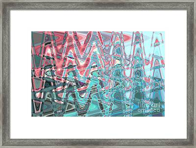 Abstract Approach Iv Framed Print by Tatjana Popovska