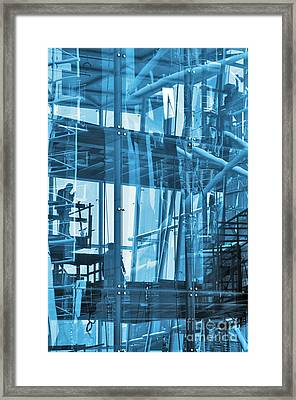 Abstract Architecture Framed Print by Carlos Caetano