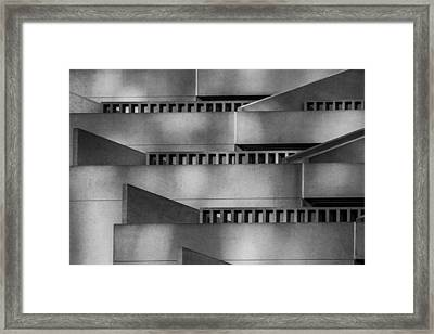 Abstract Balcony Framed Print by Bill Gallagher