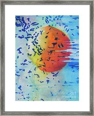 Abstract Framed Print by Chrisann Ellis