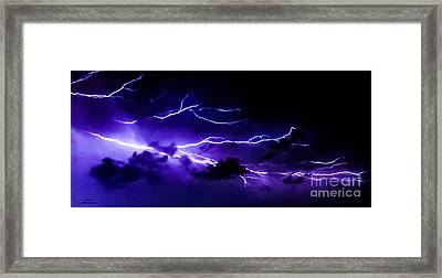 Abstract Crawlers Framed Print by Jesse  Post