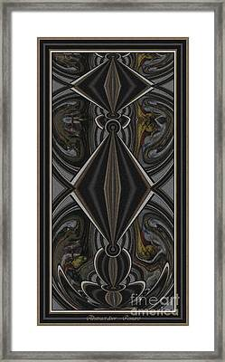 Abstract Door  Ad000002 Framed Print by Pemaro