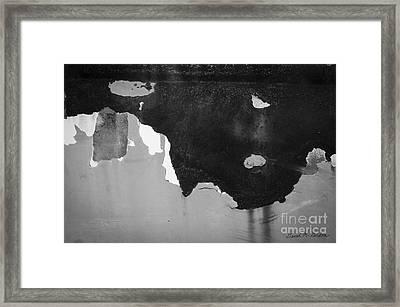 Abstract Fender I Framed Print by Dave Gordon