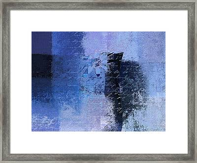 Abstract Floral - 04tl4t2b Framed Print by Variance Collections