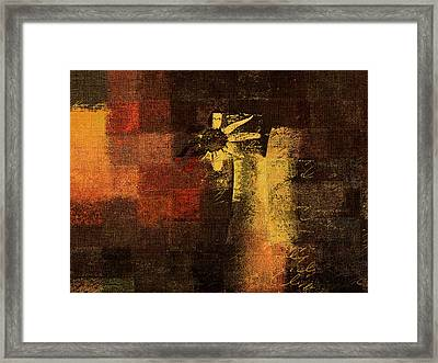 Abstract Floral - A8v46bt2a Framed Print by Variance Collections