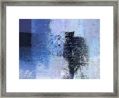 Abstract Floral - Bl3v3t1 Framed Print by Variance Collections