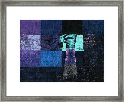 Abstract Floral - H15bt3 Framed Print by Variance Collections