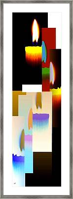 Abstract Fusion 185 Framed Print by Will Borden