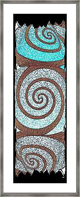 Abstract Fusion 231 Framed Print by Will Borden