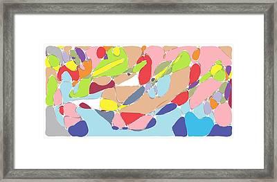 Abstract Framed Print by Keshava Shukla