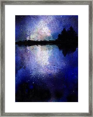 Abstract Landscape Framed Print by Jennifer Pavia