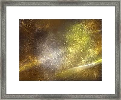 Abstract Magical Forest Framed Print by Veronica Minozzi