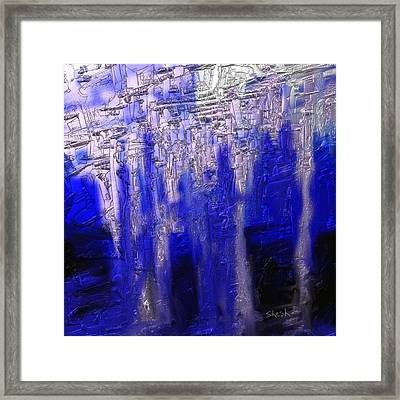 Abstract No. 55 Framed Print by Shesh Tantry