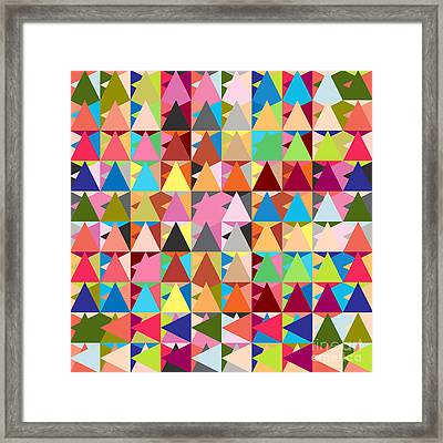 Abstract Of Colors  Framed Print by Mark Ashkenazi