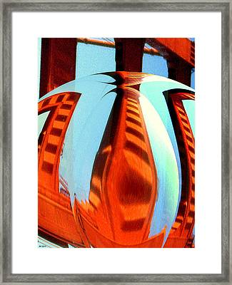 Abstract One - Modern Art Framed Print by Art America Online Gallery