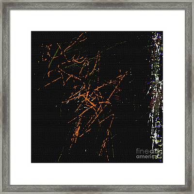 Abstract Orion The Hunter Framed Print by J Burns