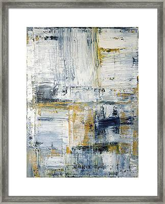 Abstract Painting No. 2 Framed Print by Julie Niemela