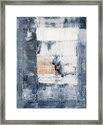 Abstract Painting No.5 Framed Print by Julie Niemela
