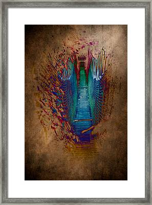 Abstract Path Framed Print by Loriental Photography