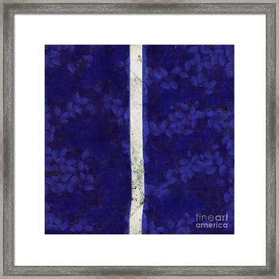 Abstract Rectangles Iv Framed Print by Edward Fielding